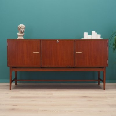 Mahogany sideboard, danish design 1970s