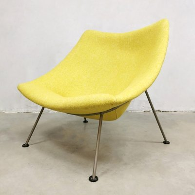 Dutch vintage design Oyster easy chair by Pierre Paulin for Artifort