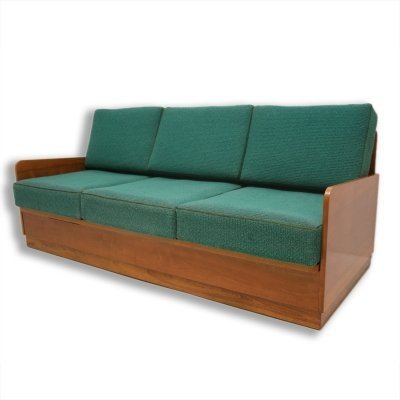 Mid century folding sofabed by Jindřich Halabala for UP Závody, 1950s
