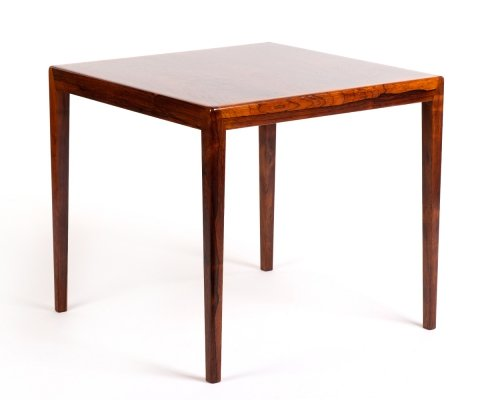 Mid century modern Danish rosewood side table, 1960s