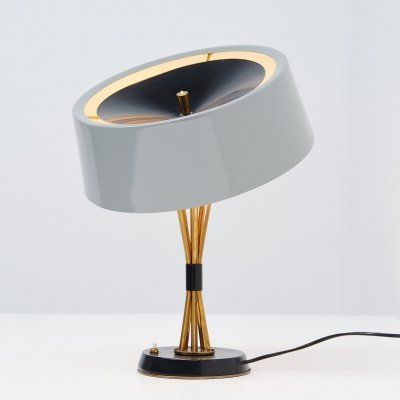 Oscar Torlasco adjustable table lamp by Lumi, Italy 1960