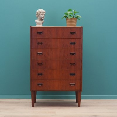 Teak chest of drawers, Danish design 1970s