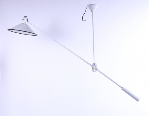 Anvia counter balance pendant light by J. Hoogervorst, 1960