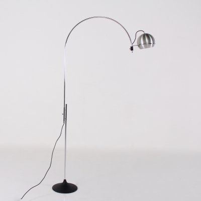 Height adjustable Mobile Arc floor lamp by Gepo, 1970's