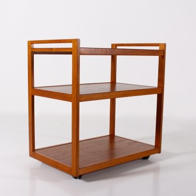 Teak Scandinavian serving trolley by Litton, 1970's