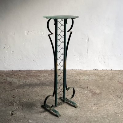 Tall Art Deco Side Table, 1950s