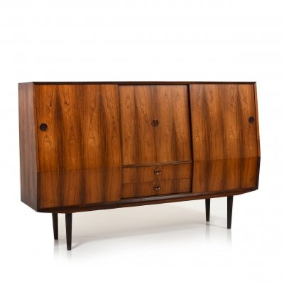 Mid Century Danish Highboard / Cabinet by Vemb Møbelfabrik