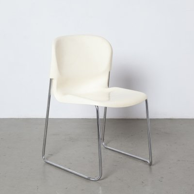White Swing chair SM400K by Gerd Lange for Drabert, 1970s
