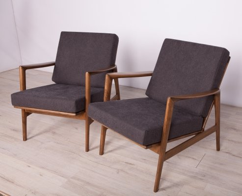 Pair of Model 300-139 Armchairs from Swarzędzka, 1960s