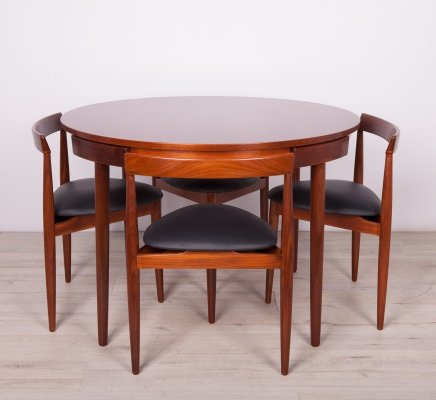 Dining set by Hans Olsen for Frem Røjle, 1950s