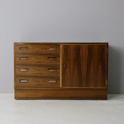 Rosewood cabinet by Poul Hundevad, Denmark 1960s