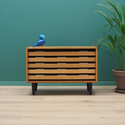 Ashwood chest of drawers, Danish design 1970s