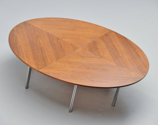 Large round conference table, 1960