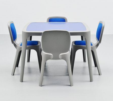Marc Newson Coast dining set by Magis Italy, 1995