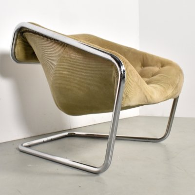 Boxer lounge chair by Kwok Hoi Chan for Steiner, 1970s