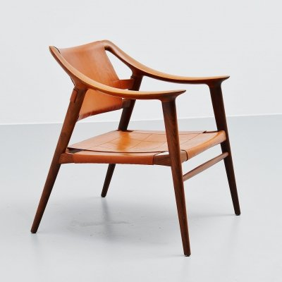 Rastad & Relling Bambi lounge chair by Gustav Bahus Norway, 1950