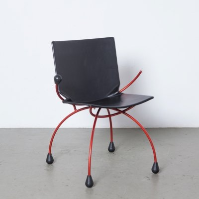 Very Rare postmodern chair by Karel Boonzaaijer & Pierre Mazairac for Young International, 1980s