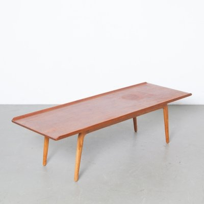 Coffee Table in teak by Aksel Bender Madsen for Bovenkamp, 1950s