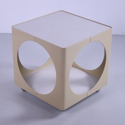 Space Age Cube Side table or coffee table, 1970s