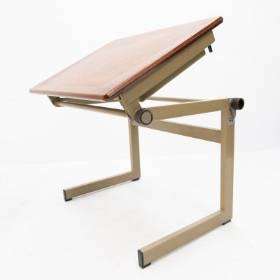 Small Industrial writing table, 1960s