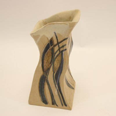 Studio Pottery Model Vase from Denmark marked RUTH 87