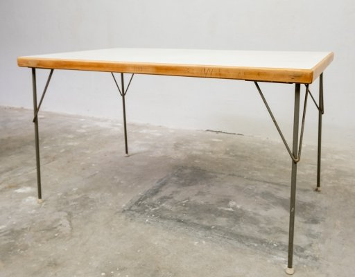 W. Rietveld dining table by Gispen Culenborg, 1950s