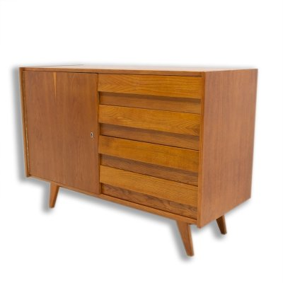 Mid century chest of drawers U-458 by Jiri Jiroutek, Czechoslovakia 1960s