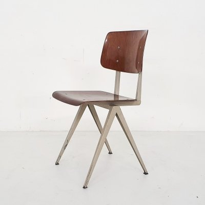 Vintage Galvanitas S16 dining chair, The Netherlands 1950's