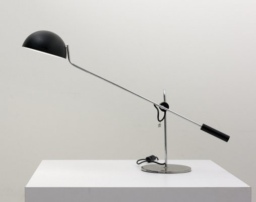 Large Counterweight Desk Lamp, Italy 1960's