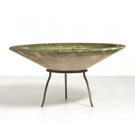 Large Planter Bowl by Willy Guhl for Eternit SA, Switzerland 1950's
