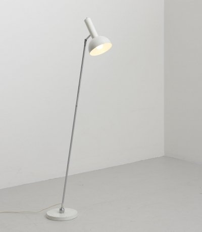 'Ball in Socket' Floor Lamp by Herman Busquet for Hala Zeist, Netherlands 1960
