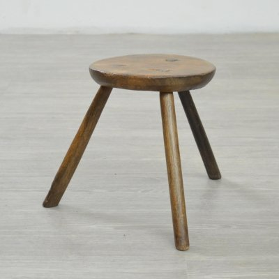English Milking Stool, 1920s