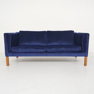 Vintage 2,5 seater model 2335 sofa by Peter Mogensen for Fredericia, 1970s