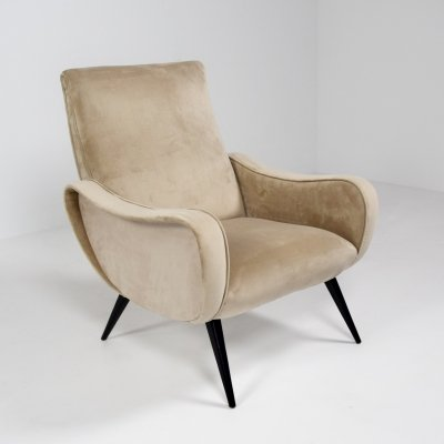 Poltrona Lady Arm Chair by Marco Zanuso, Italy 1960