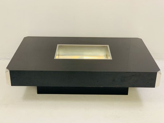 Willy Rizzo Coffee Table, Italy 1970s