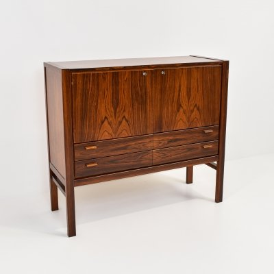 Rosewood Bar Cabinet, 1970s