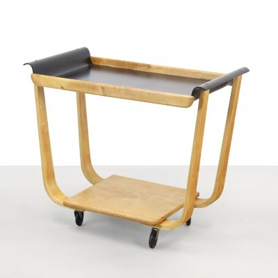Tea trolley Model PB01 by Cees Braakman for Pastoe