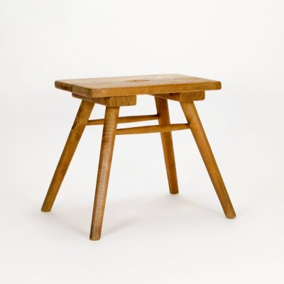 Rustic French Brewer's Stool