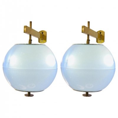 Pair of Wall Lights by Galassia, Italy 1960s