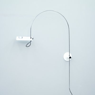 Joe Colombo Spider Arc Wall Lamp, 1967