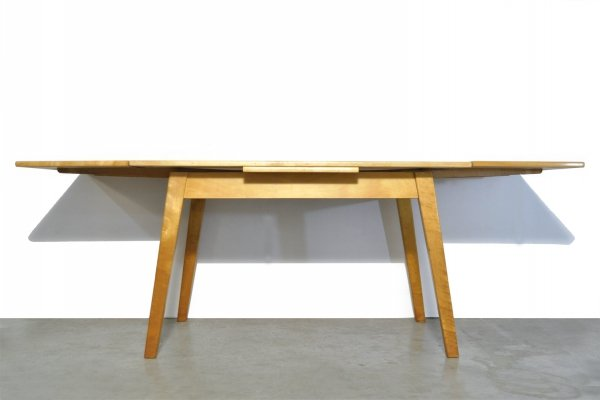 Vintage Scandinavian Birch dining table, 1970s