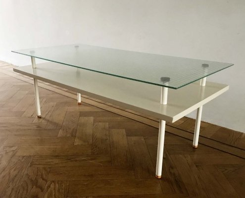 Modernist coffee table with strong Bauhaus influences, 1960s