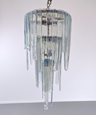 Murano Glass 'Cascade' Chandelier by Carlo Nason for Mazzega