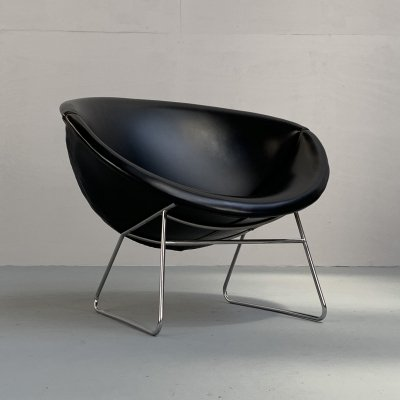 Cocco lounge chair by J.H. Rohé for Rohé Noordwolde, Netherlands 1950s
