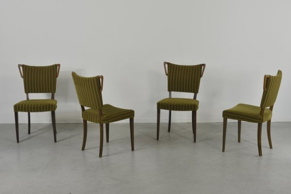 Set of 6 chairs from Slagelse Mobelvaerk, Denmark 1950s