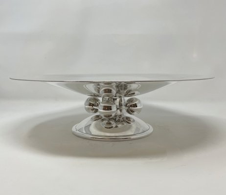 Art Deco Bowl by Luc Lanel for Christofle, 1930s