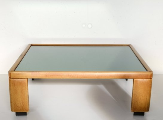 Coffee table by Luigi Massoni for Poltrona Frau, 1970s