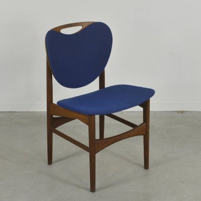 Danish Modern teak chair, 1960's