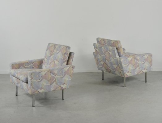 Set of 2 lounge armchairs by Hans Kaufeld, 1970's