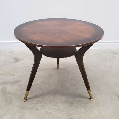 Mid Century Round Coffee Table / Side Table, 1960's
